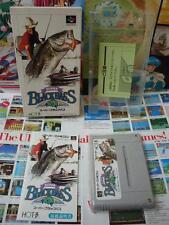 Super Famicom SFC:Super Black Bass [TOP HOT-B 1992 / BON ETAT] COMPLET - Jap