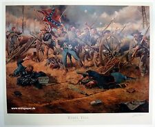 Troiani Don Rebel Yell Civil war Historical Art Print Limited Edition 1864