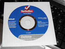 2007 TurboTax  Federal Deluxe w/State Turbo Tax NEW CD with FREE Shipping!
