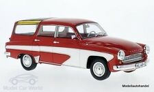 Wartburg 312 Camping Deluxe  rot/weiss 1967 1:18 BOS