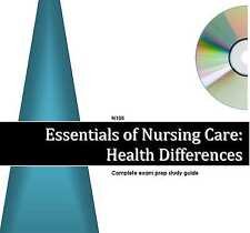 N105 Essentials of Nursing Care: HEALTH DIFFERENCES Study Guide Excelsior Exam