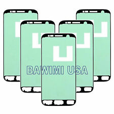 5X LOT ADHESIVE STICKER FRONT SCREEN GLASS REPLACEMENT FOR SAMSUNG GALAXY S7