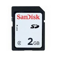 2GB SanDisk SD Memory Card SDSDAA-002G Standard Black Secure Digital Card