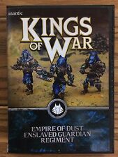 Kings Of War, 2nd Edition: Empire Of Dust Enslaved Guardian Regiment