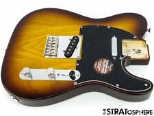 LOADED Fender American Standard Tele BODY Twisted Telecaster Cognac Ash 2016