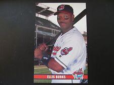 2003 Ellis Burks Cleveland Indians Post Cards / Postcards