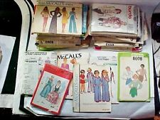 Lot #4:  29 Sewing Patterns 70s 80s Simplicity McCalls Vogue + Others