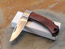 A.G. RUSSELL KNIVES, A. G. RUSSELL A-702 LOCK BACK FOLDING KNIFE, JAPAN