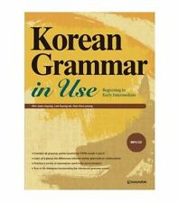 Korean Grammar in Use Beginning to Early Intermediate with MP3 CD