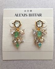 NEW! Alexis Bittar Crystal and Stone Encrusted Princess Ear Jackets