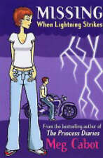 When Lightning Strikes (Missing), By Meg Cabot,in Used but Acceptable condition