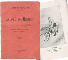 Cyclisme, Vélo : Livre sur le TOUR DE FRANCE publié en 1908 par Alphonse BAUGÉ.