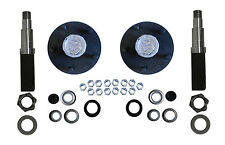 Build Your Own Trailer Axle Kit 3500# Square Spindle Idler Hub Camper RV