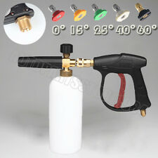 Car Washer Gun Spray Snow Foam Wash Lance Soap Bottle 1L For karch High Pressure