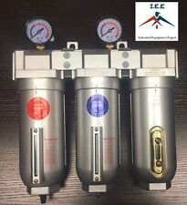"3/4"" Inline Compressed Air Filter Desiccant Dryer Moisture Separator Trap Combo"
