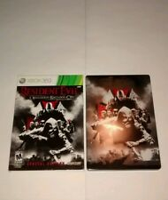 Resident Evil Operation Raccoon City Special Edition Xbox 360 Game Steelbook