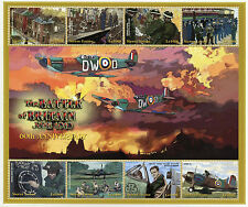 Sierra Leone 2000 MNH WWII Battle Britain World War II 8v M/S III Planes Stamps