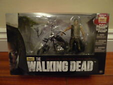 McFarlane The Walking Dead Daryl Dixon & Chopper Bike motorcycle Figure Set BNIB