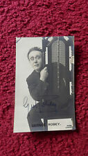 ACTOR GEORGE ROBEY AUTOGRAPHED PHOTO