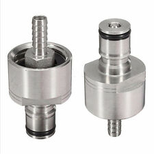 Homebrew Stainless Steel Carbonation Cap Ball Lock Type Fit For PET Bottles easy