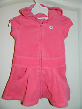 Girl's Pink Swimsuit Cover-Up Size 12 Months