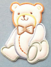 Baby Design - Teddy Bear - Boy - Embroidered Iron On Applique Patch