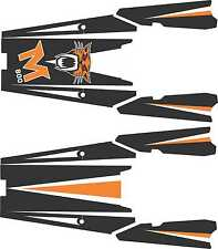 ARCTIC CAT TUNNEL top GRAPHICS WRAP SNO PRO CLIMB CROSS M 800 1100 TURBO DECAL 1