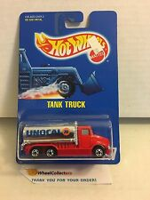 Tank Truck #147 * Red Unocal 76 * Blue Card Hot Wheels * E39