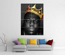 NOTORIOUS B.I.G BIGGIE SMALLS GIANT WALL ART PHOTO PRINT POSTER
