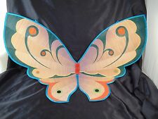 Butterfly wings wall hanging hand made reed Chinese clothing oriental Asian