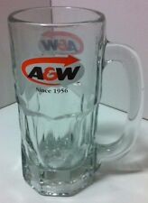 A&W Tall Root Beer Classic Mug Glass Reproduction Of The Iconic A&W Heavy Mug
