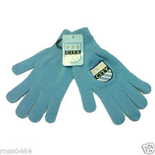 Manchester City Gloves Crest Sky Blue Magic One Size Gift