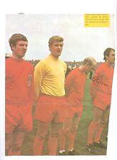 RON DAVIES SOUTHAMPTON 1966-1973 RARE ORIGINAL HAND SIGNED  PICTURE CUTTING