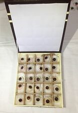 Super Quality Artificial Brown Eyes-25 Pieces Set/Prosthetic Eyes Set