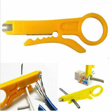 2PCS Network Connection Wire Punch Down Cutter Stripper For RJ45 Cat5 Cable Tool