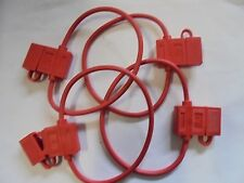 4 PACK 10 GAUGE ATC FUSE HOLDER IN-LINE AWG WIRE COPPER 12 VOLT POWER BLADE