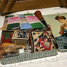 Vintage Sewing Lot~including Tin!!!