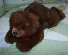Ty Classic Dark Brown BABY PAWs Bear Cub w/Appliqued Foot Prints 1996 EUC 11""