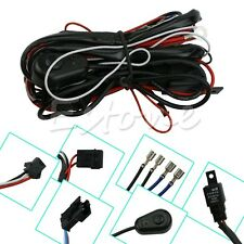 New Universal Wiring Harness for Off Road LED Bars LED Work Fog Light ATVS