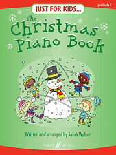 Just For Kids Christmas Songs Piano Niños Solo principiante Faber música Libro