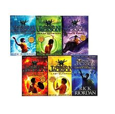 Percy Jackson Rick Riordan 6 Books Collection Pack Set