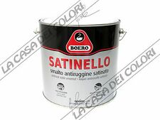 """BOERO SATINELLO - TINTE """"I COORDINATI"""" - 2,5 lt - SMALTO SATINATO"""