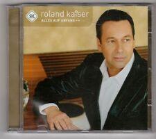 (GL538) Roland Kaiser, Alles auf Anfang - 2001 CD