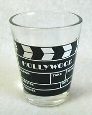 """NEW Shot Glass Shooter HOLLYWOOD Art Deco SCENE CLAPPERBOARD 2-3/8"""""""