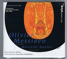 MESSIAEN  CD NEW INA DEBUSSY MARCELLE BUNLET  VICHY 1954