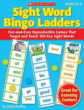 Sight Word Bingo Ladders, Grades K-2: Fun-And-Easy Reproducible Games That...