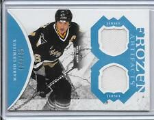2011-12 Artifacts - MARIO LEMIEUX - Dual Game Used Jersey - PENGUINS #d 114/135