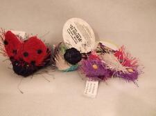 Multipet Mixed Assorted Cat Toy Lot of 10 Pieces Bugs Butterflies Lady Bugs