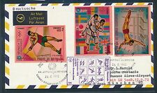 82499) LH Olympiade SF München - Buenos Aires 12.9.72 Brief ab Guinea SPA