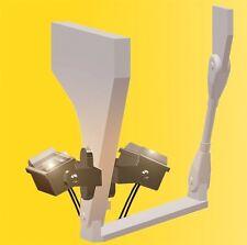 Viessmann 6339 Deckenstrahler, LED weiß, 7 Stück, H0